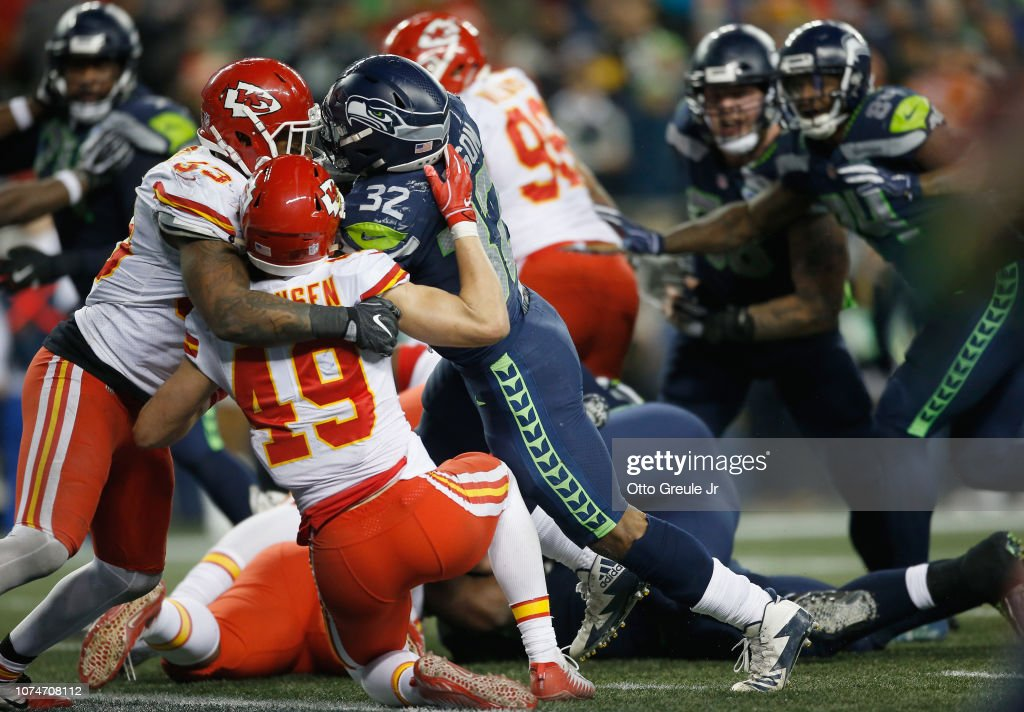 Kansas City Chiefs v Seattle Seahawks : News Photo