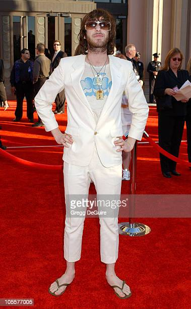 Chris Cester of Jet during 32nd Annual American Music Awards Arrivals at Shrine Auditorium in Los Angeles California United States