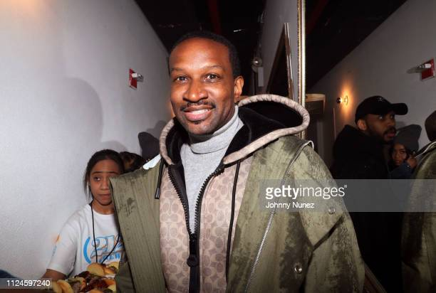 Chris Chambers attends Stoop Talks with A$AP Rocky Dapper Dan at Terminal 5 on February 12 2019 in New York City