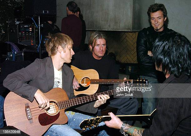 Chris Chaney Billy Duffy John Clayton and Billy Morrison