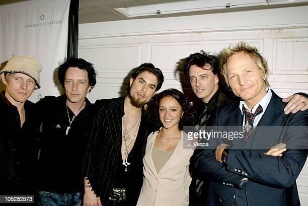 Chris Chaney Billy Morrison Dave Navarro Keisha CastleHughes Donovan Leitch and Matt Sorum