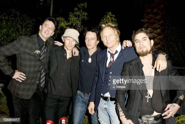 Chris Chaney Billy Morrison Dave Navarro Matt Sorum and Donovan Leitch