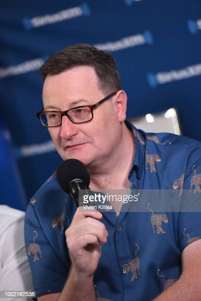 Chris Chibnall attends SiriusXM's Entertainment Weekly Radio Broadcasts Live From Comic Con in San Diego at Hard Rock Hotel San Diego on July 19 2018...