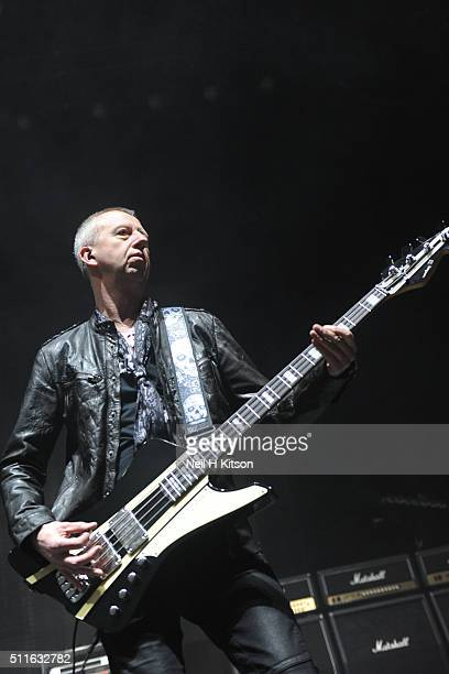 Chris Child of Thunder Performs at Motorpoint Arena on February 19 2016 in Sheffield England
