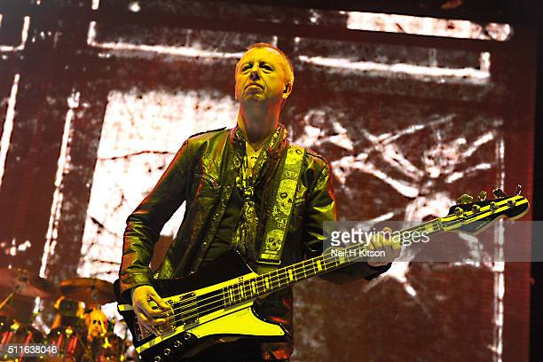 Chris Childs of Thunder Performs at Motorpoint Arena on February 19 2016 in Sheffield England