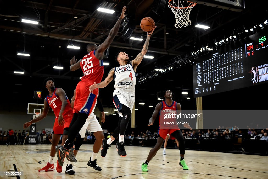 2018 MGM Resorts NBA G League Winter Showcase Day 3: Capital City Go-Go v Agua Caliente Clippers : News Photo