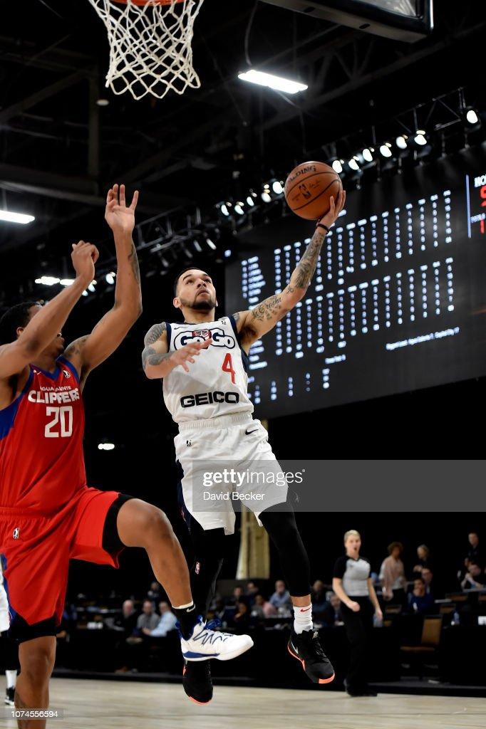 2018 MGM Resorts NBA G League Winter Showcase Day 3: Capital City Go-Go v Agua Caliente Clippers : News Photo