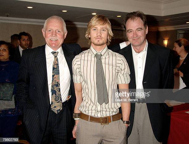 Chris Chittell Matthew Wolfenden and Billy Hartman attend the TRIC Awards 2007 at the Grosvenor House on March 6 2007 in London England