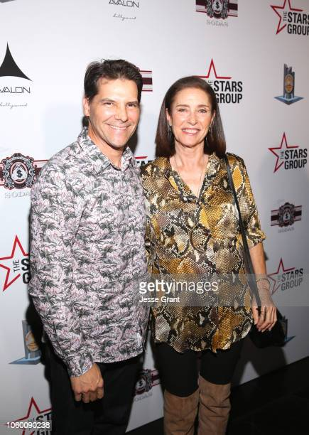 Chris Ciaffa and mimi Rogers attend Heroes For Heroes: Los Angeles Police Memorial Foundation Celebrity Poker Tournament at Avalon Hollywood on...