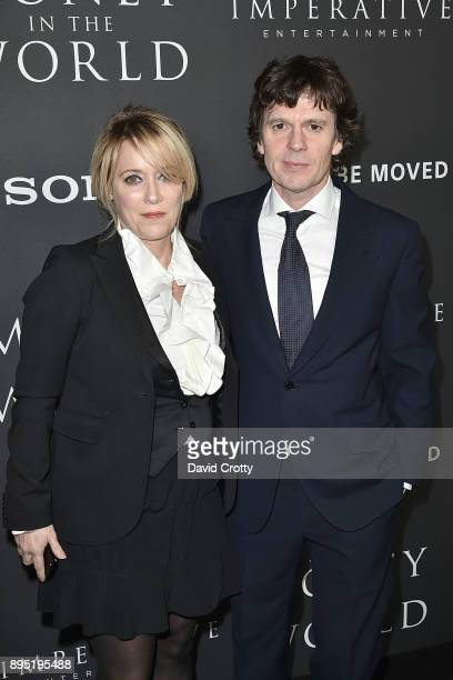 Chris Clark and Guest attend the Premiere Of Sony Pictures Entertainment's 'All The Money In The World' Arrivals at Samuel Goldwyn Theater on...