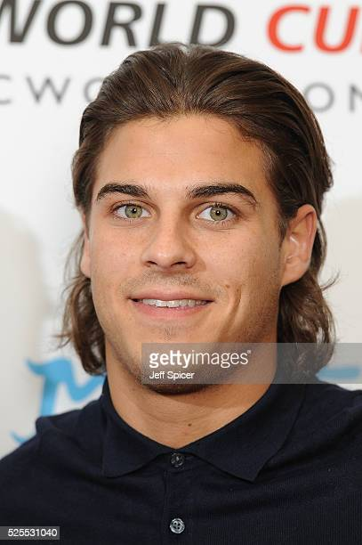 Chris Clark arrives at the launch of the 2016 annual BLOCH Dance World Cup on April 28 2016 in London England