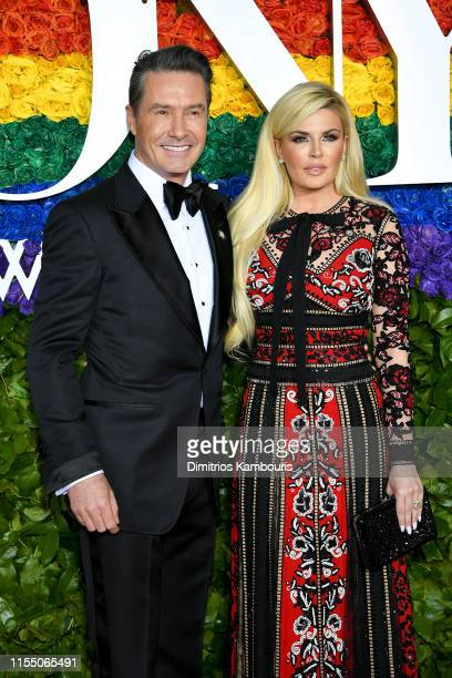 Chris Clarke and Ashlee Clarke Producers of Tootsie attend the 73rd Annual Tony Awards at Radio City Music Hall on June 09 2019 in New York City