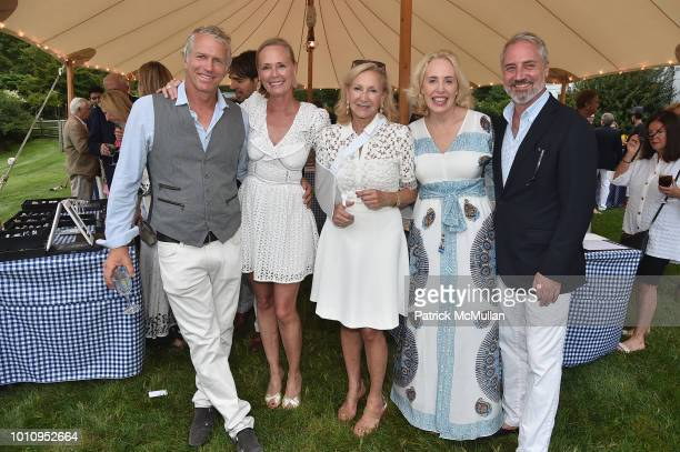 Chris Clarke Hilary Dick Karen Klopp Amy Hoadley and Jack Lynch attend the Rita Hayworth Gala Hamptons Kickoff Event hosted by Alzheimer's...