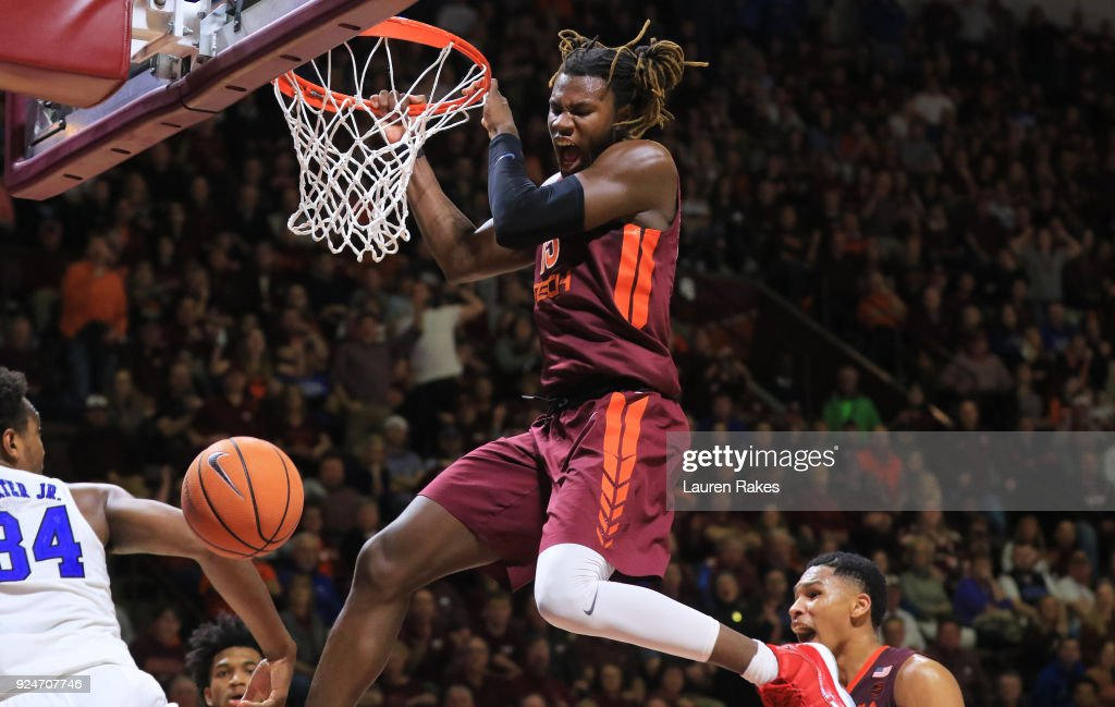 Duke University v Virginia Tech : News Photo