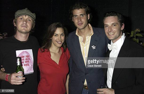 Chris Coco Jessica de Rothschild Anthony de Rothschild and Sacha Putman attend Chris Coco and Sacha Puttnam's performance and party celebrating their...