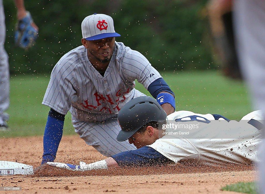 Kansas City Royals v Chicago Cubs : News Photo