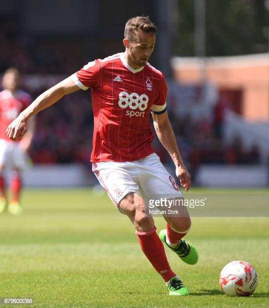 Chris Cohen of Nottingham Forest in action during the Sky Bet Championship match between Nottingham Forest and Ipswich Town at City Ground on May 7...