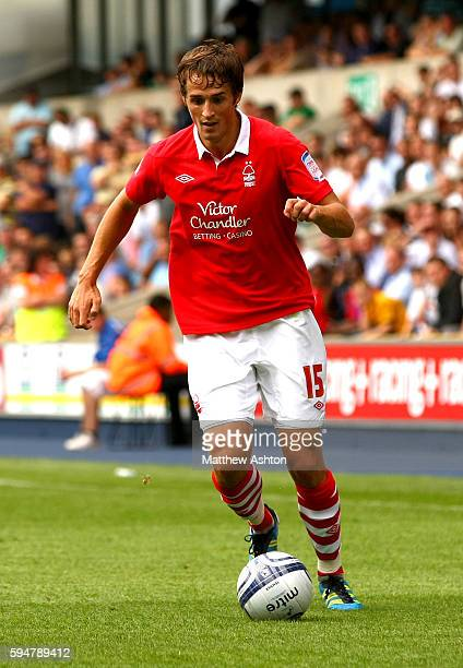 Chris Cohen of Nottingham Forest in action