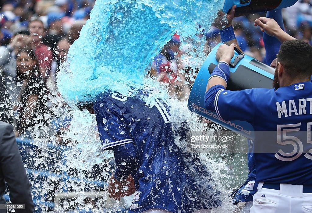 Houston Astros v Toronto Blue Jays : Nieuwsfoto's