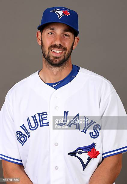 Chris Colabello of the Toronto Blue Jays poses on photo day on February 28 2015 in Dunedin Florida