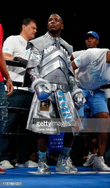 Chris Colbert prepares for a lightweight fight against Albert Mercado at the Mandalay Bay Events Center on June 23 2019 in Las Vegas Nevada Colbert...