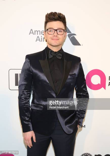 Chris Colfer attends 27th Annual Elton John AIDS Foundation Academy Awards Viewing Party Celebrating EJAF And The 91st Academy Awards on February 24...