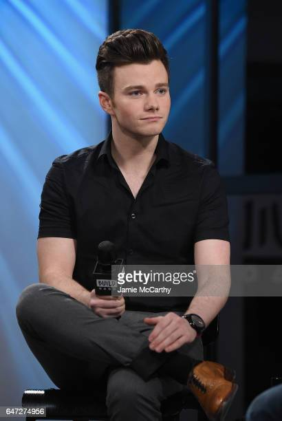 Chris Colfer attends the Build Series Presents Chris Colfer Discussing Stranger Than Fanfiction at Build Studio on March 2 2017 in New York City