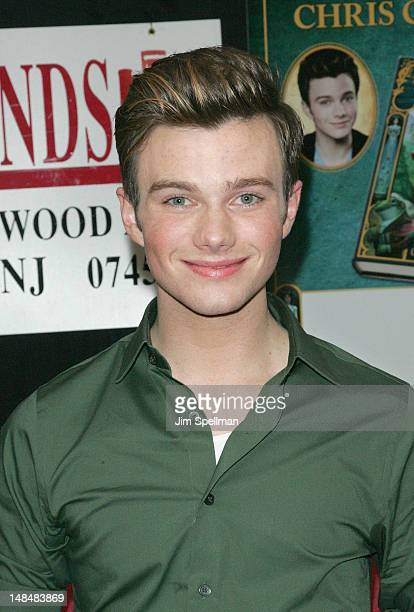 """Chris Colfer promotes """"The Land Of Stories"""" at Bookends Bookstore on July 17, 2012 in Ridgewood, New Jersey."""