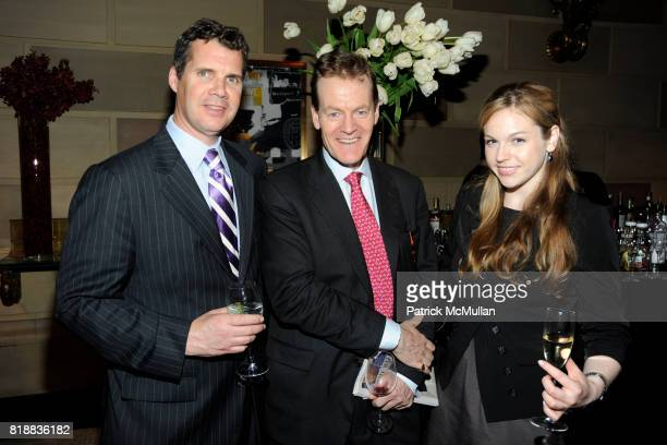 Chris Collins Peter Truell and Sasha Dizard attend THE WALL STREET JOURNAL's GREATER NEW YORK Launch Celebration at Gotham Hall on April 26th 2010 in...