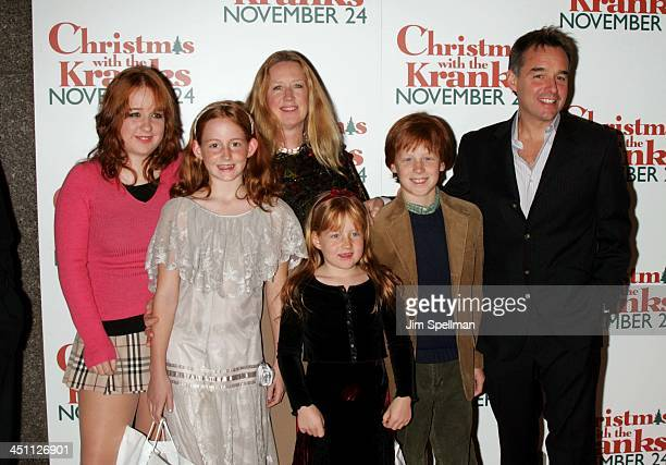 Chris Columbus and guest during Christmas with The Kranks New York City Premiere Outside Arrivals at Radio City Music Hall in New York City New York...