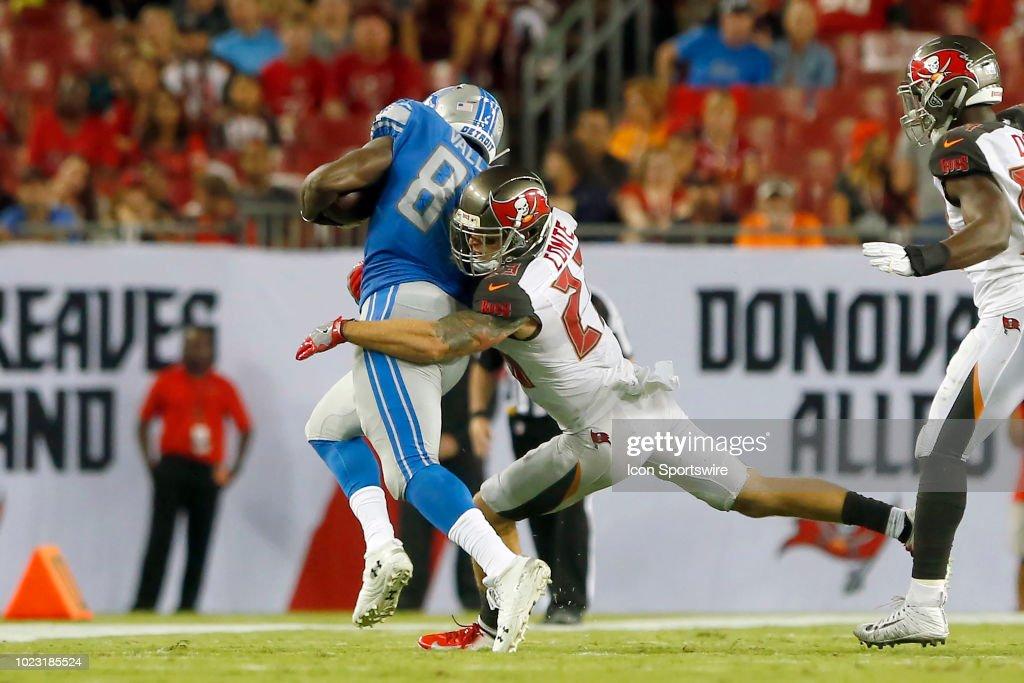 NFL: AUG 24 Preseason - Lions at Buccaneers : News Photo