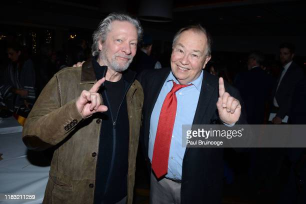 Chris Cooper and David Newell attend New York Special Screening Of A Beautiful Day In The Neighborhood After Party at Le District Restaurant on...