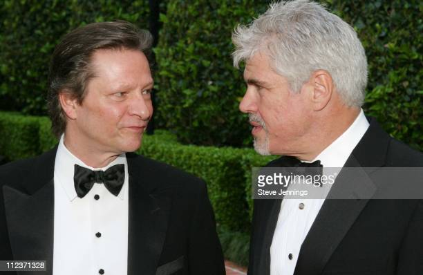Chris Cooper and Gary Ross during Film Society Awards Night in San Francisco at Ritz-Carlton Hotel in San Francisco, United States.