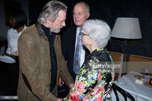 Chris Cooper and Joanne Rogers attend New York Special Screening Of A Beautiful Day In The Neighborhood After Party at Le District Restaurant on...