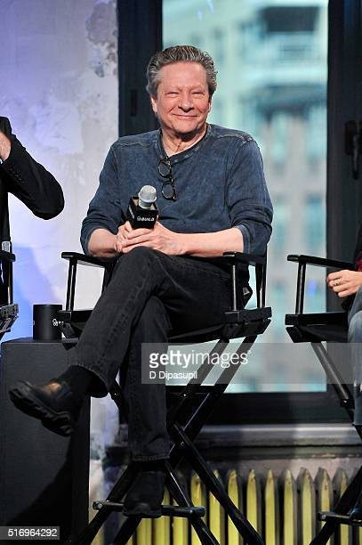 """Chris Cooper attends the AOL Build Speaker Series to discuss """"Demolition"""" at AOL Studios In New York on March 22, 2016 in New York City."""