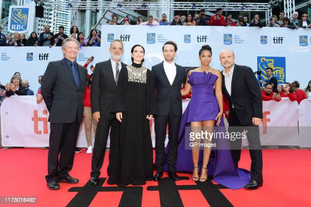 Chris Cooper Tom Hanks Marielle Heller Matthew Rhys Susan Kelechi Watson and Enrico Colantoni attend the A Beautiful Day In The Neighborhood premiere...