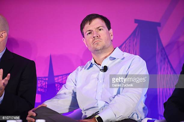 Chris Copeland speaks onstage at the The Rise of the Omnichannel Programmatic Platform on the ADARA Stage at Times Center Hall during 2016...