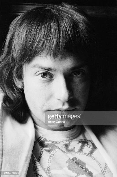 Chris Copping of Procol Harum photographed at The Theatre Royal in London's Covent Garden on 6th May 1972