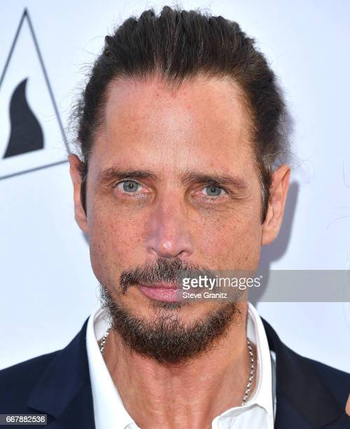 Chris Cornell arrives at the Premiere Of Open Road Films' 'The Promise' at TCL Chinese Theatre on April 12 2017 in Hollywood California