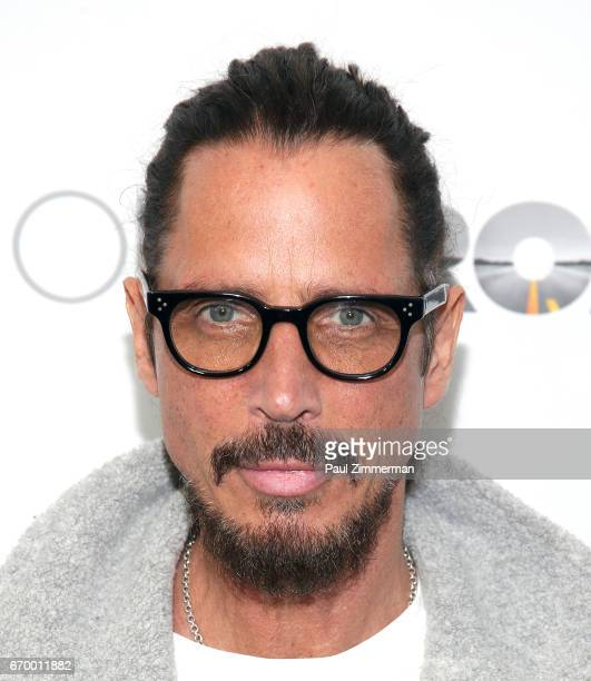 Chris Cornell attends 'The Promise' New York Screening at Paris Theatre on April 18 2017 in New York City