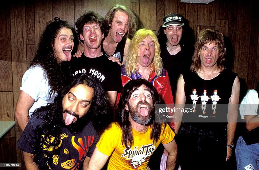 Chris Cornell, Chris Guest, Joe Satriani, Harry Shear and Michael McKean of Spinal Tap