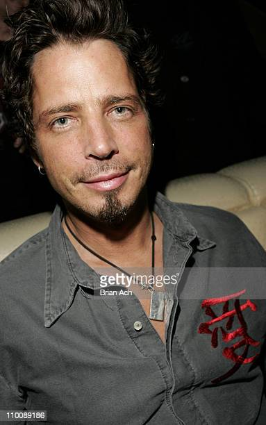 Chris Cornell during Audioslave's Chris Cornell Hosts Party at Marquee September 14 2006 at Marquee in New York City New York United States