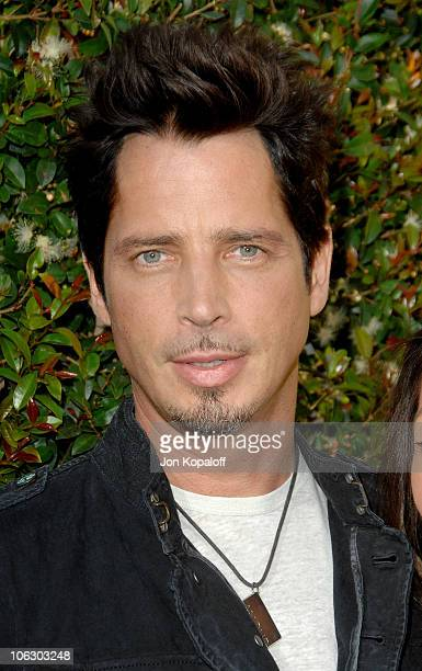 Chris Cornell during First Annual Spike TV's Guys Choice Arrivals at Radford Studios in Studio City California United States