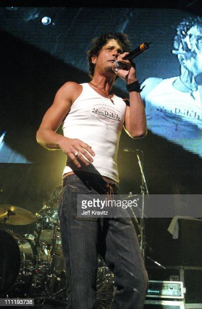 Chris Cornell of Audioslave during KROQ Almost Acoustic Christmas Concert at Universal Amphitheater in Universal City CA United States