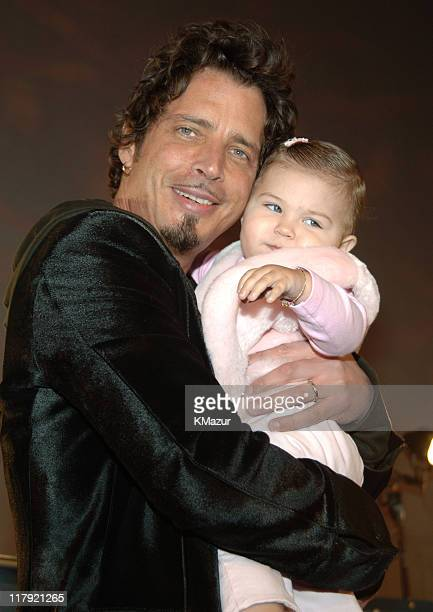 Chris Cornell of Audioslave with daughter Toni Cornell