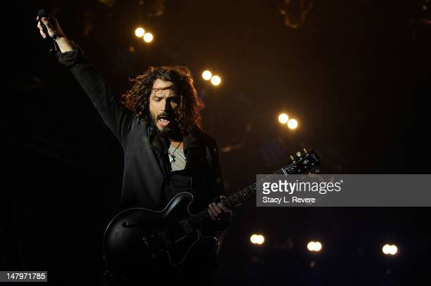 Chris Cornell of Soundgarden performs as part of the 2011 Voodoo Music Experience at City Park October 28 2011 in New Orleans Louisiana