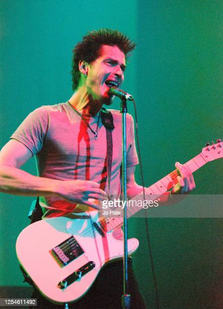 Chris Cornell of Soundgarden performs at Brixton Academy, London, 19 September, 1996. (Photo by Jo Hale/Redferns