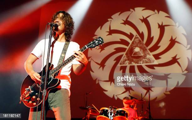 Chris Cornell of Soundgarden performs at Brixton Academy on September 19 2013 in London England