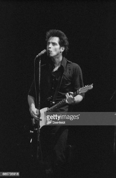 Chris Cornell of Soundgarden performs at Lallapalooza at the Irvine Meadows Amphitheatre in Irvine California on August 3 1996