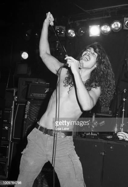 Chris Cornell of Soundgarden performs on August 19 1990 in Allentown Pennsylvania
